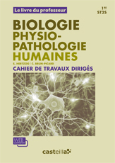 Biologie physiopathologie humaines 1re ST2S - Livre du professeur